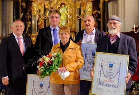 33. Verleihung der Kulturehrenbriefe - 02.10.2016 - Kloster Altstadt Hammelburg