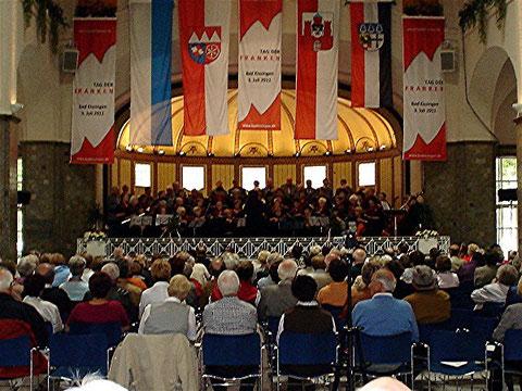 GV 1883 Garitz - Tag der Franken - 3. Juli 2011
