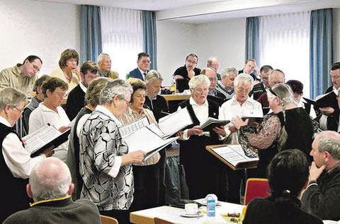 Gruppenversammlung in Premich - 2007