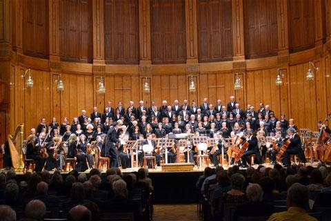 Konzert im Regentenbau mit Gastchor CSG Pressath und der Jenaer Philharmonie – 19.03.2016  -  Foto: Nicolas Thoma