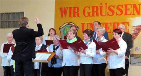 Beim Liedernachmittag - 2015 -- Chorleitung: Michael Kopieniok