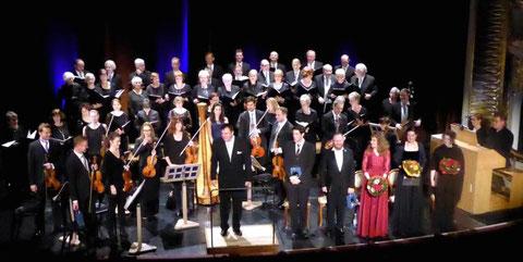 Adventskonzert im Kurtheater - 2016 - Leitung: Hermann Freibott