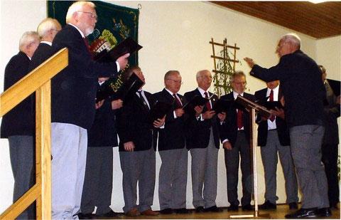 Beim Liederabend in Weißenbach - 2011