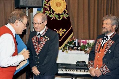 Neue Ehrenmitglieder - Hans Seith und Edi Schmitt - 2014