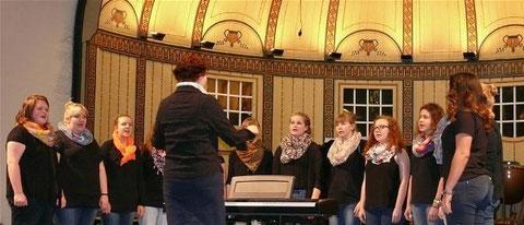 Chorisma  beim Konzert junger Chöre - Wandelhalle Bad Kissingen -080315