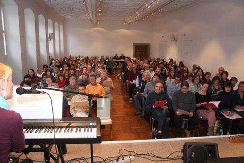 "19. Sängerschulung ""Alte Aula"" Münnerstadt mit Ilona Seufert  - Januar 2016"