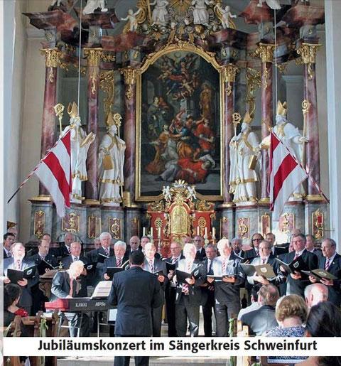 Landkreismännerchor - Oberelsbach 30.06.12
