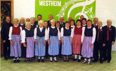 Gemischter Chor - Leitung: Rudolf Wurm - im Jubiläumsjahr 2015