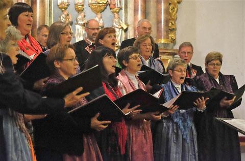 Gemischter Chor - musikalische Umrahmung - Kulturehrenbriefverleihung Kloster Altstadt 041015