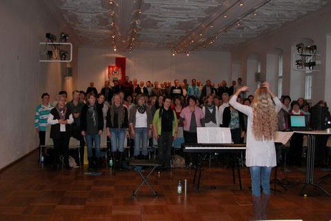 15. Sängerschulung Münnerstadt 2012 (140 Teilnehmer) - Ilona Seufert