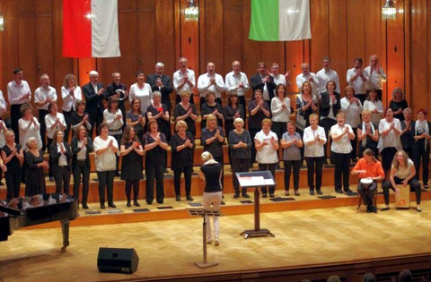 Jubiläumskonzert - 20 Jahre Sängerschulung - Max-Littmannsaal Bad Kissingen - 160917