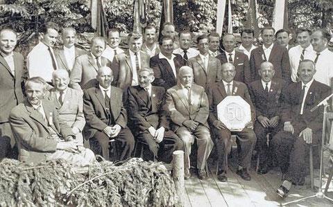 50-jähriges Jubiläum - 1962