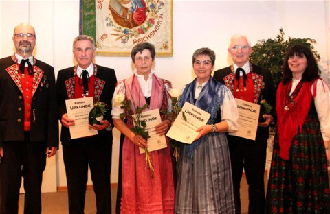 Ehrungen 2017 - Ehrenmitglieder