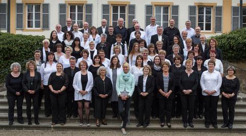 Projektchor Sängerschulung Münnerstadt - Teilnehmer Deutsches Chorfest Stuttgart - 2016