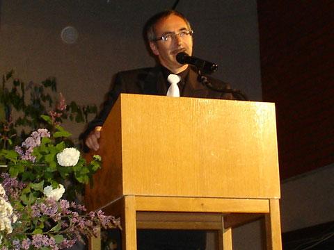 Chorleiter Erhard Schumm - 30-jähriges Jubiläum   2011