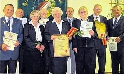 Ehrungen - 2011