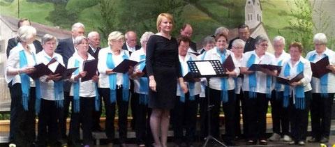 Liederabend in Riedenberg - 120414 - Leitung: Angela Adomnita