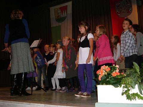 Kinder-Singkreis in Bad Bocklet - 2.10.10