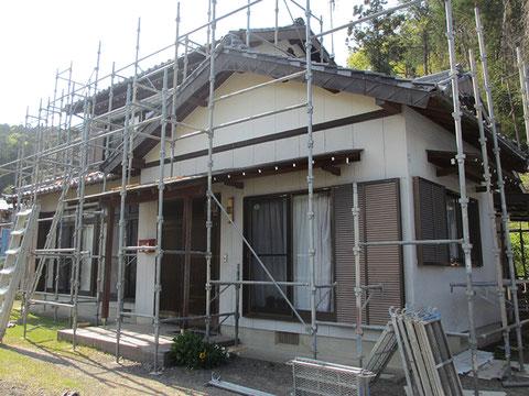 静岡県森町M邸・施工前の画像