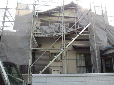 静岡県菊川市A邸・施工前の画像