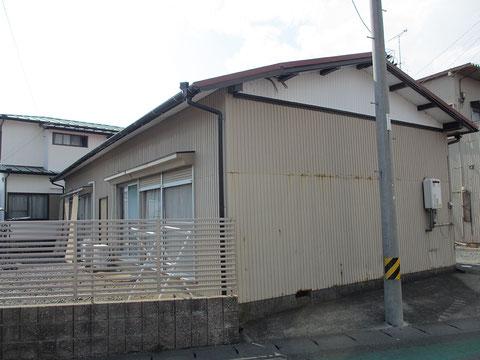 静岡県袋井市O邸東・施工前の画像