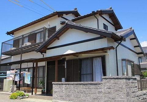 静岡県袋井市・S邸「外壁塗装」施工後