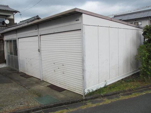 静岡県森町G店倉庫・施行前の画像