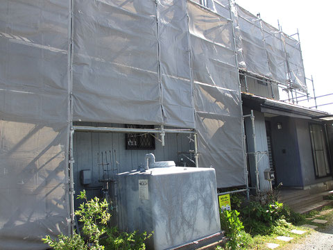 静岡県掛川市Y邸・施工前の画像