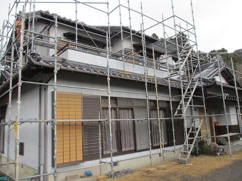 静岡県森町O邸・施工前の画像