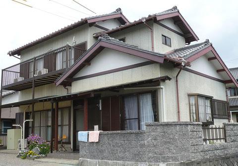 静岡県袋井市・S邸「外壁塗装」施行前