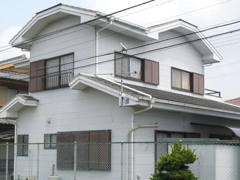 静岡県森町・T邸「屋根・外壁塗装」施行前