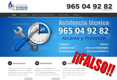 SERVICIO TÉCNICO PIRATA 965 04 82 92