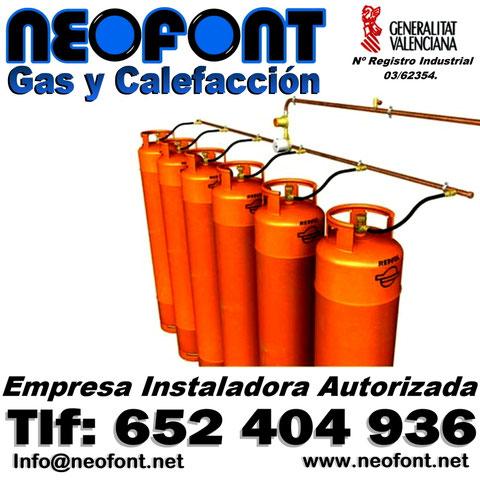 Instalador de gas Alicante