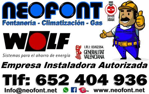Instalador de calderas en Alicante