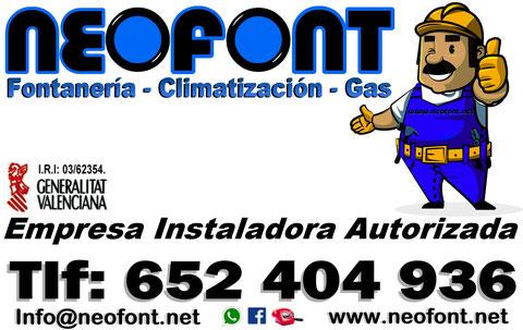 Fontaneros Alicante 24h