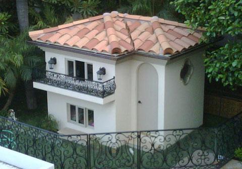 Foto de la casa de los chihuahuas de Paris Hilton