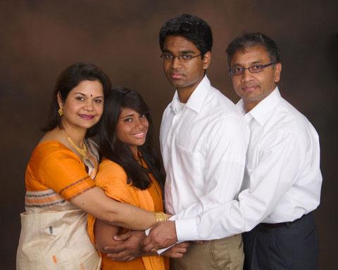 Prakash: Suneeta, Juhee, Tanmay, Surya