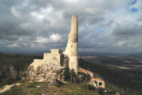 Una bonita vista del Castillo