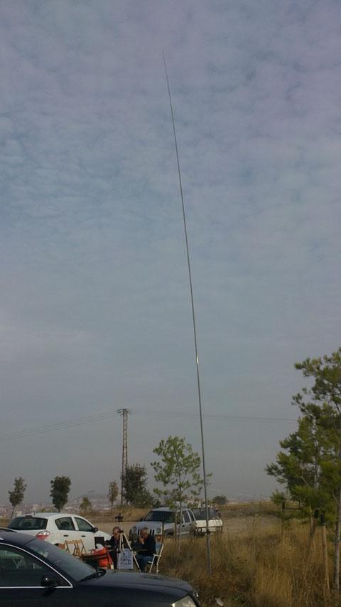 La Antena,con diez y seis mts de altura.