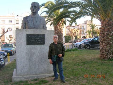 Estoy junto a Luis del Olmo,ja ja.