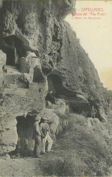 """Otra vista de las cuevas del """"Capello"""""""