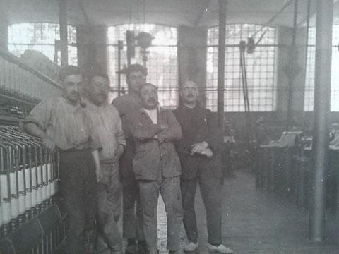 Antiguos trabajadores de la casa Guasch