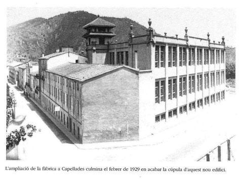 La Antigua Fabrica Guasch,de los pañuelos.