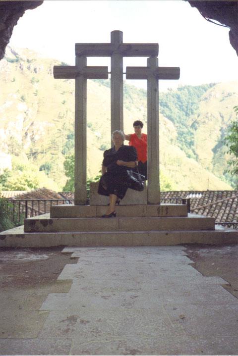 Tambien en Covadonga.