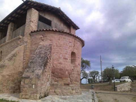 Un lateral de la Ermita.