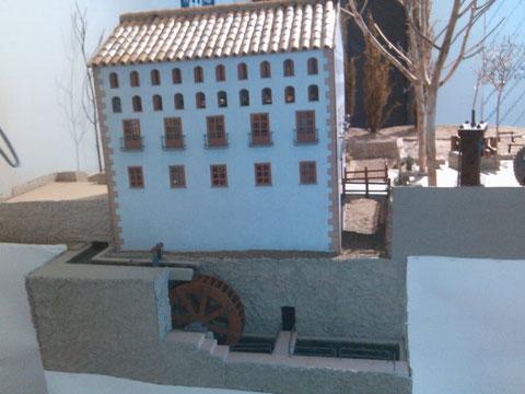 Una maqueta del Museo