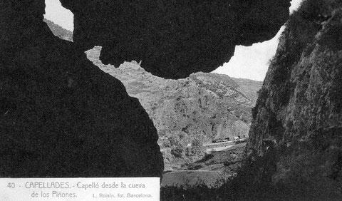 Estas fotos son de Internet, con el titulo FOTOS ANTIGUAS DE CAPELLADES DEL Atministrador,Sr Joan Piñol.