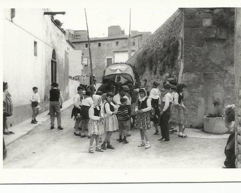 Las Caramellas, calle Amador Romani,conocido por carrer Fondo.
