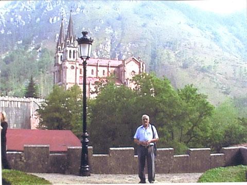 Yo en Cavadonga