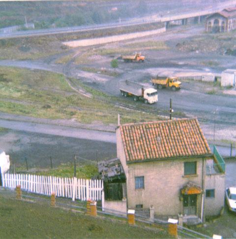 Otra vista en Sovilla,al fondo la carretera Oviedo Leon.